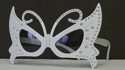 Butterfly Style Sunglasses Funny Costume Halloween Dress Up Cosplay Makeup Party