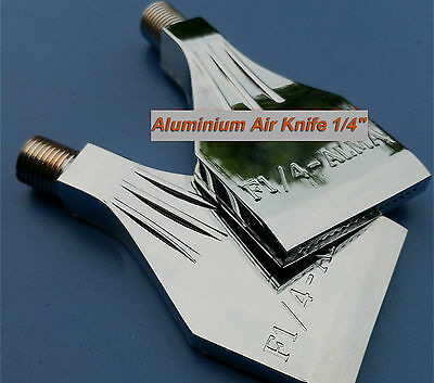 2pcs Aluminium Air Blower Air Nozzle Air Knife 1/4''