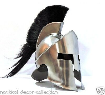 300 Movie Medieval King Roman Leonidas Spartan Helmet Leonidas Armour roll play