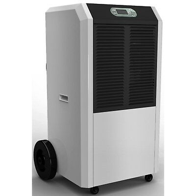 Amcor 90 litre per day Commercial Dehumidifier on Large wheels with digit ACD90L