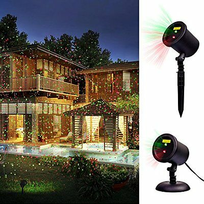 star shower outdoor laser christmas light star projector