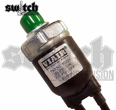 Viair Sealed Pressure Switch 165 PSI on 200 Off On Board Air, Train Horn
