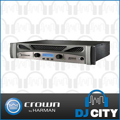 XTi4002 Power Amplifier 2 Channel 1200W Amp DJ City Australia