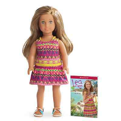 New American Girl Lea Clark Mini Doll Girl of Year 2016 GOTY 2016 INSTOCK NIB