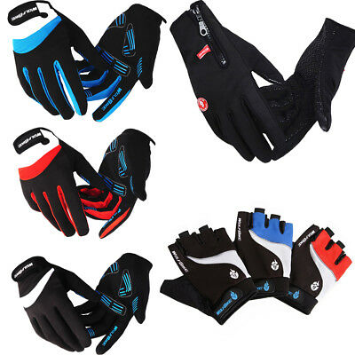 Winter Road Cycling Gloves Bike Antiskid Full Finger Wolfbike Bicycle Mittens