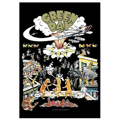 "GREEN DAY Dookie Tapestry Cloth Poster Flag Wall Banner 30"" x 40"""