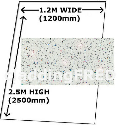 Cladding 2  White Sparkle Shower Bathroom Wall Boards  Splashpanel Tough Panels