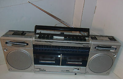 Poste Ghetto Blaster Philips Spatial Stereo Sound  / Vintage