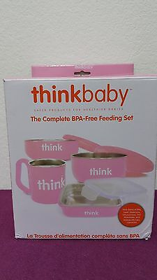 Thinkbaby The Complete Feeding Set * Pink