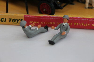 Corgi GS40 The Avengers - Replacement John Steed Figure (Reproduction - Painted)