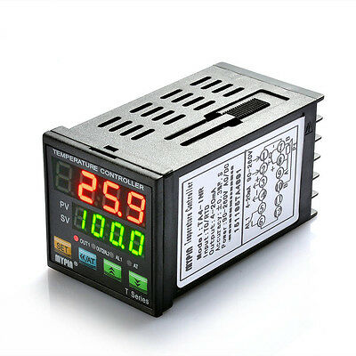 Dual Digital PID Temperature Control Controller SSR Output Thermostat TA4-INR