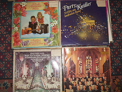 42 LP`s;Amiga;gemischt;Pop;Klassik;Klamauk;Party