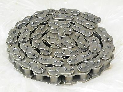 "Roller Chain, 100 Pitch, Cottered, Single Strand,  67 1/2"" Long, Hkk"
