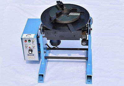 30KG Welding Positioner Turntable Timing with 300mm Chuck 110V New Y