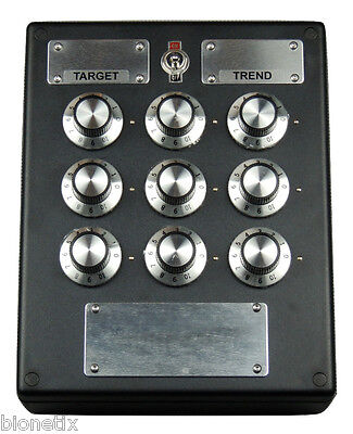 9 DIAL TUNER RADIONIC BOX BROADCAST / TRANSMIT - Free Tracked post Worldwide