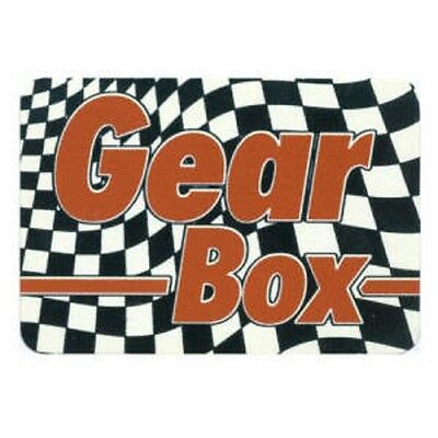 FUN - Gear Box - Aufkleber Sticker - Neu #245 - Funartikel
