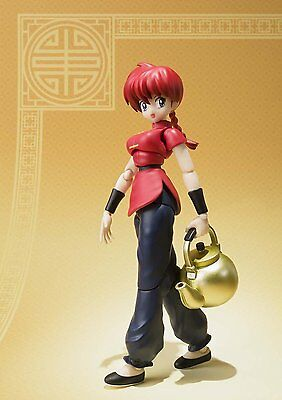 BANDAI S.H.Figuarts Saotome Ranma Ranma 1/2 Figure Japan Import Official F/S