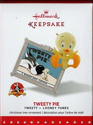 Clearance - TWEETY PIE BIRD - Hallmark Looney Tunes Keepsake Christmas Ornament