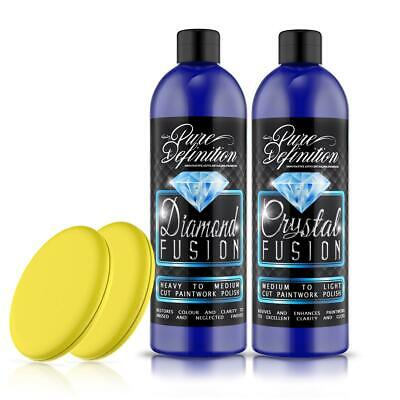 Car Polish Paintwork Kit | Gloss Scratch Remover Detailing ~ Pure Definition