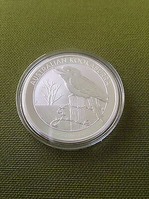 2016 Australia 1 Troy Oz .999 Silver $1 Kookaburra in Perth Mint Cap  In Hand