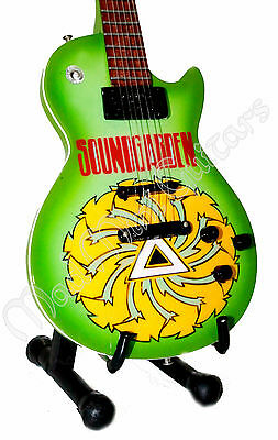 Miniature Guitar SOUNDGARDEN with free stand. Chris Cornell