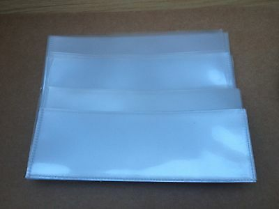 10 x Polypropylene Banknote Sleeves - Different Sizes Available