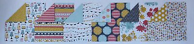 """Stampin Up! Paper share ~ Patio Party DSP 12 pack of 6"""" x 6"""" paper"""