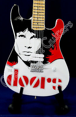 Miniature Guitar THE DOORS with free stand. Jim Morrison