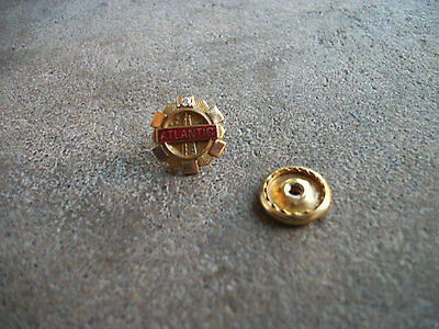 vintage Atlantic Gas oil employee award 25 yr service 10k gold pin