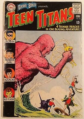 BRAVE AND THE BOLD #60 VG 4.0 DC 1965 2nd Teen Titans 1st Wonder Girl Donna Troy