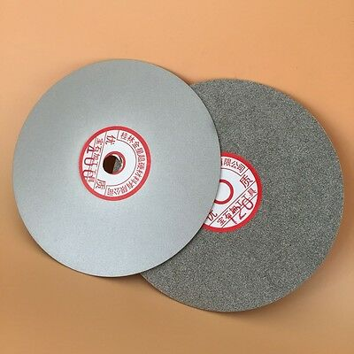 "6"" inch Grit 600# Diamond coated Flat Lap wheel Lapidary grinding polishing disc"