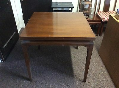 Antique  and expandable dining room table and chairs.