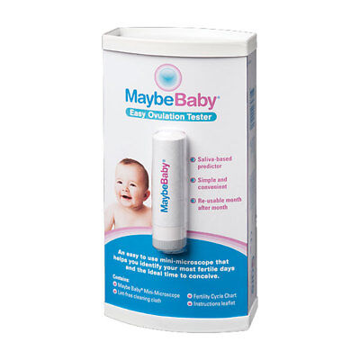 * Maybe Baby Easy Ovulation Tester Reusable Saliva-Based Predictor Fertility