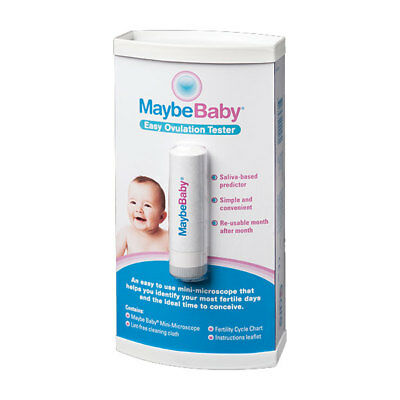 Maybe Baby Easy Saliva Ovulation Tester Simple To Use
