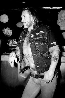 Lemmy Kilmister MOTORHEAD Poster 20x30 inch Photo Candid Exclusive Backstage 15