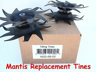 Mantis Tiller Replacement Tines 1622,   INCLUDES HITCH PINS,  Same Day Ship