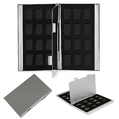 Best Metal Aluminum Micro SD TF Memory Card Storage Box Holder Case Protector