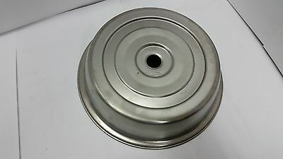 "NEW VOLLRATH Plate Cover 9"" - 9 1/8"" Stainless Steel 62300 Hotel/Restaurant"
