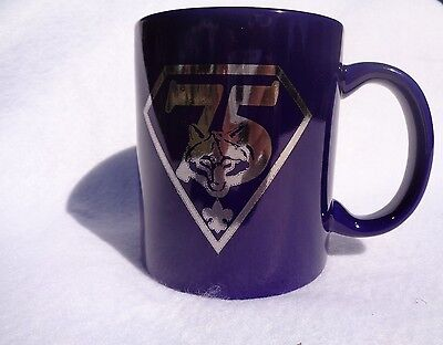 Cub Scout 75th Anniversary Mug, New in Box, Boy Scouts of America BSA