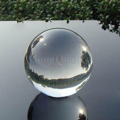 40mm Transparent Crystal Rhinestone Ball Sphere Photography Props Gifts for Kids