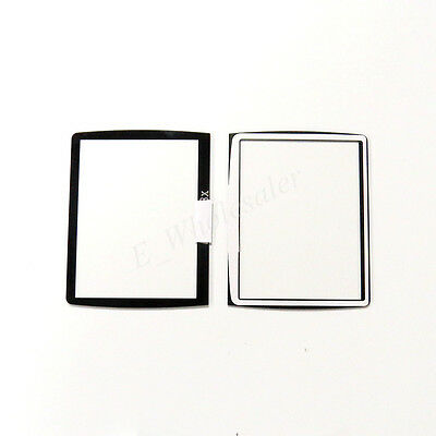 WINDOW DISPLAY OUTER GLASS FOR lcd NIKON D3400 DSLR ACRYLIC VETRINO repair parts