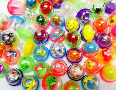 """500 1"""" Toy Filled Vending Capsules Bulk Mix Prizes Vintage Birthday Party Favor"""