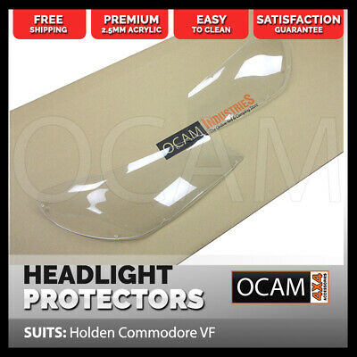 OCAM Headlight Headlamp Protectors for Holden Commodore VF Models Lamp Covers