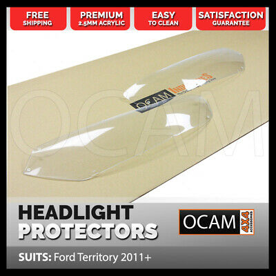 OCAM Headlight Protectors for Ford Territory 2011-Onwards Lamp Covers