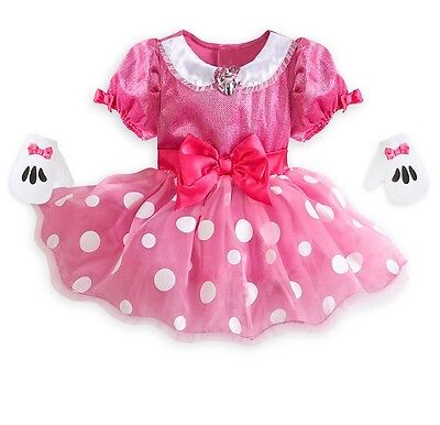 AUTHENTIC DISNEY Minnie Mouse Costume for Baby 18-24 months NEW