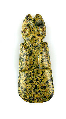 Beautiful Speckled Stone Axe God - Ex- Curation International