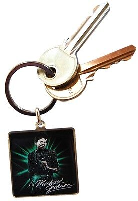 MICHAEL JACKSON off the wall - enamel/metal KEYRING official merchandise
