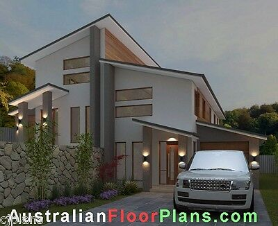 Free Construction Plans DESIGN |306DURH| DUPLEX DESIGN | 6 Bedroom Duplex Plans