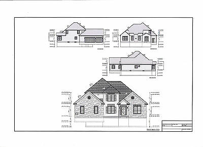 Building plans blueprints diy materials home for 16x32 2 story house plans