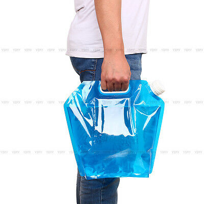10L Outdoor Camping Picnic Portable Folding Drinking Water Container Lifting Bag